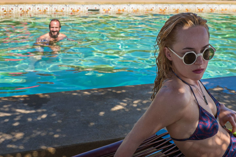 """A Bigger Splash"" - Ralph Fiennes, Dakota Johnson"
