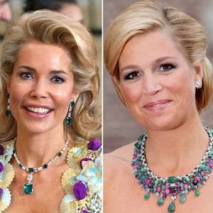 Gabriele Prinzessin von Leiningen + Königin Máxima