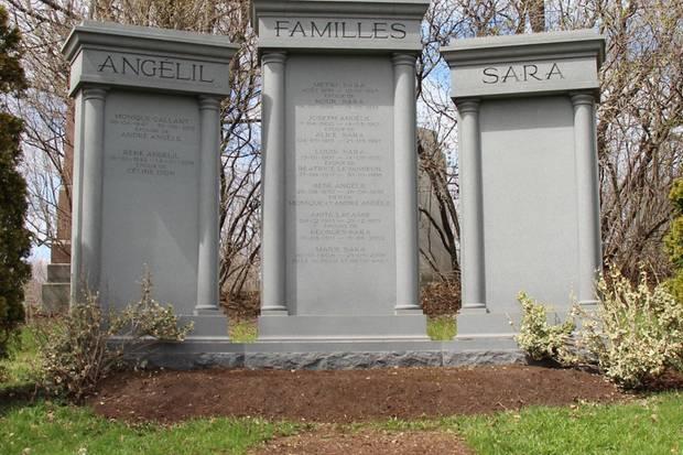 Hier liegt Céline Dions Mann René Angélil begraben.