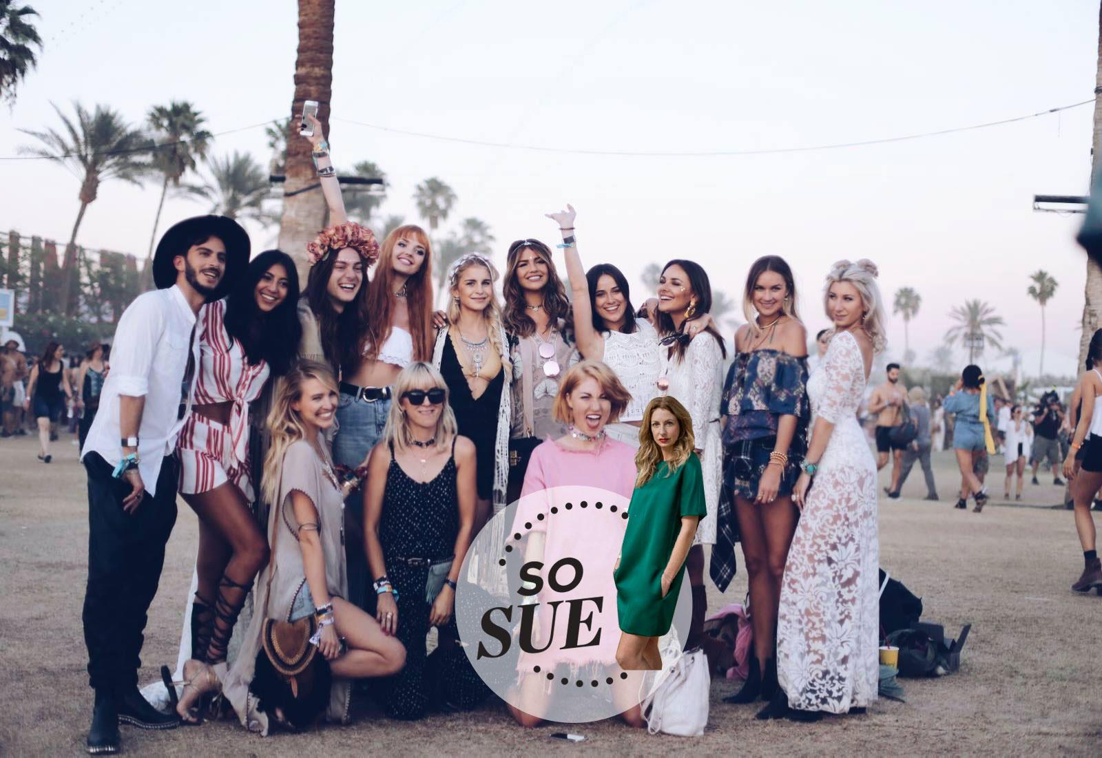 Die Girls vom Blogger Bazaar beim Coachella 2016