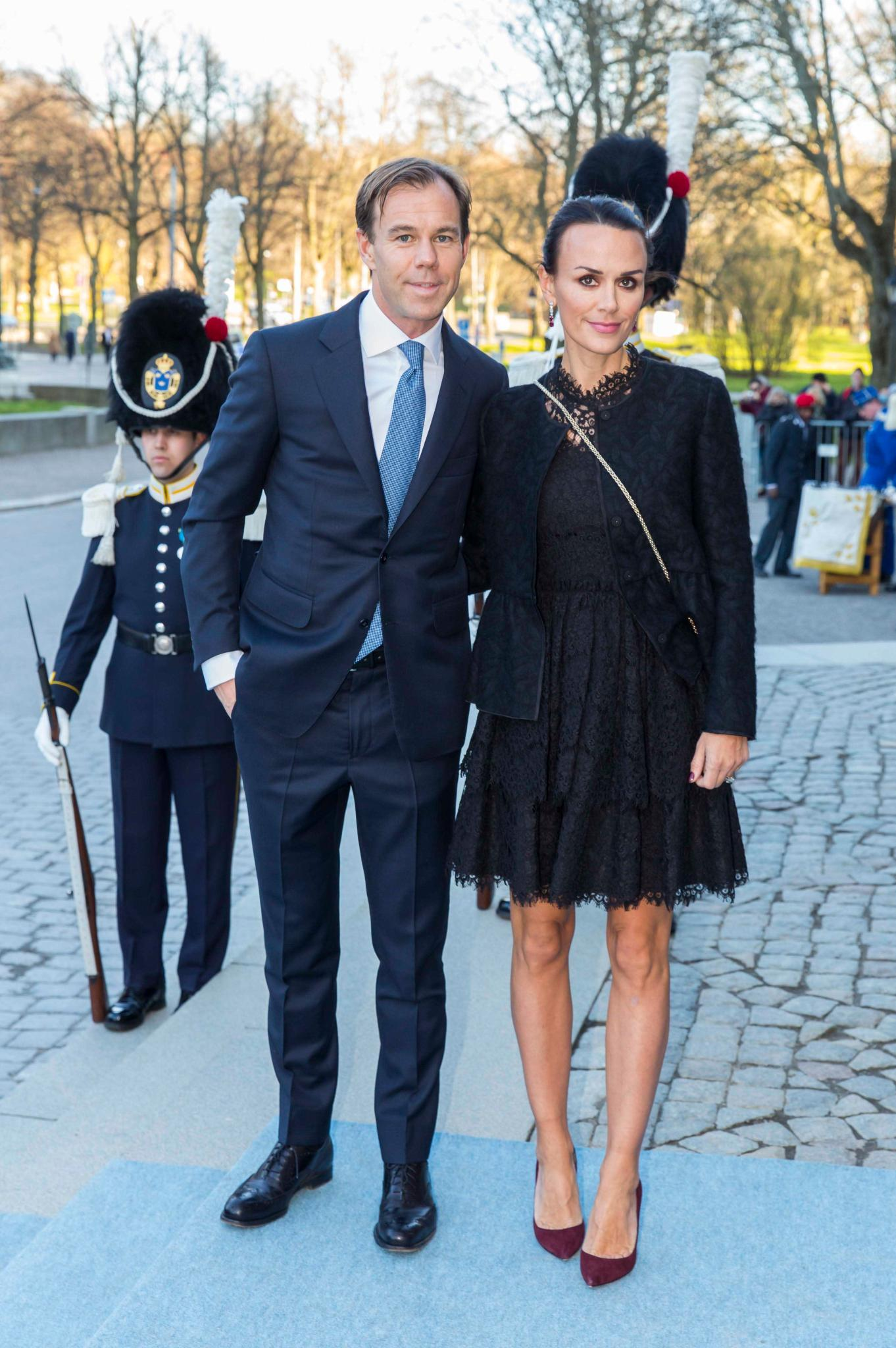 Leonie Persson gehört zu den engen Freunden von Prinzessin Victoria. Verheiratet ist sie mit H&M-Chef Karl Johan Persson.