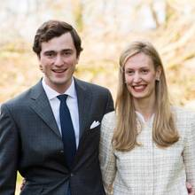Prinz Amedeo und Prinzessin Elisabetta