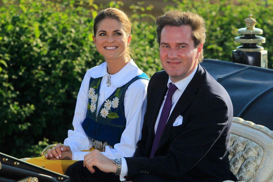 2013 sah es so aus: Chris O'Neill und Prinzessin Madeleine treten gemeinsam beim Nationalfeiertag auf.