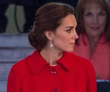 Herzogin Catherine bei den Feierlichkeiten zum 90. Geburtstag von Königin Elizabeth II. am 15. Mai 2016.