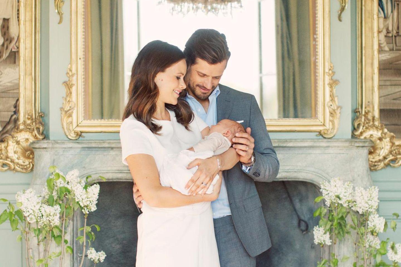 Prinzessin Sofia, Prinz Carl Philip und Prinz Alexander