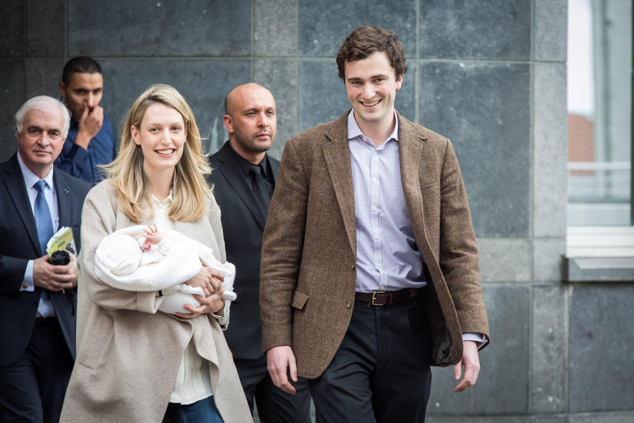 Lili, Prinz Amedeo von Belgien, Baby Anna Astrid