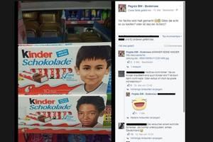 Braune Hetze gegen Kinderschokolade