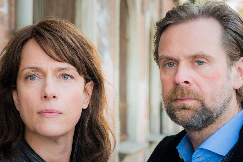 """""""Polizeiruf 110 - Endstation"""" mit Matthias Matschke und Claudia Michelsen."""