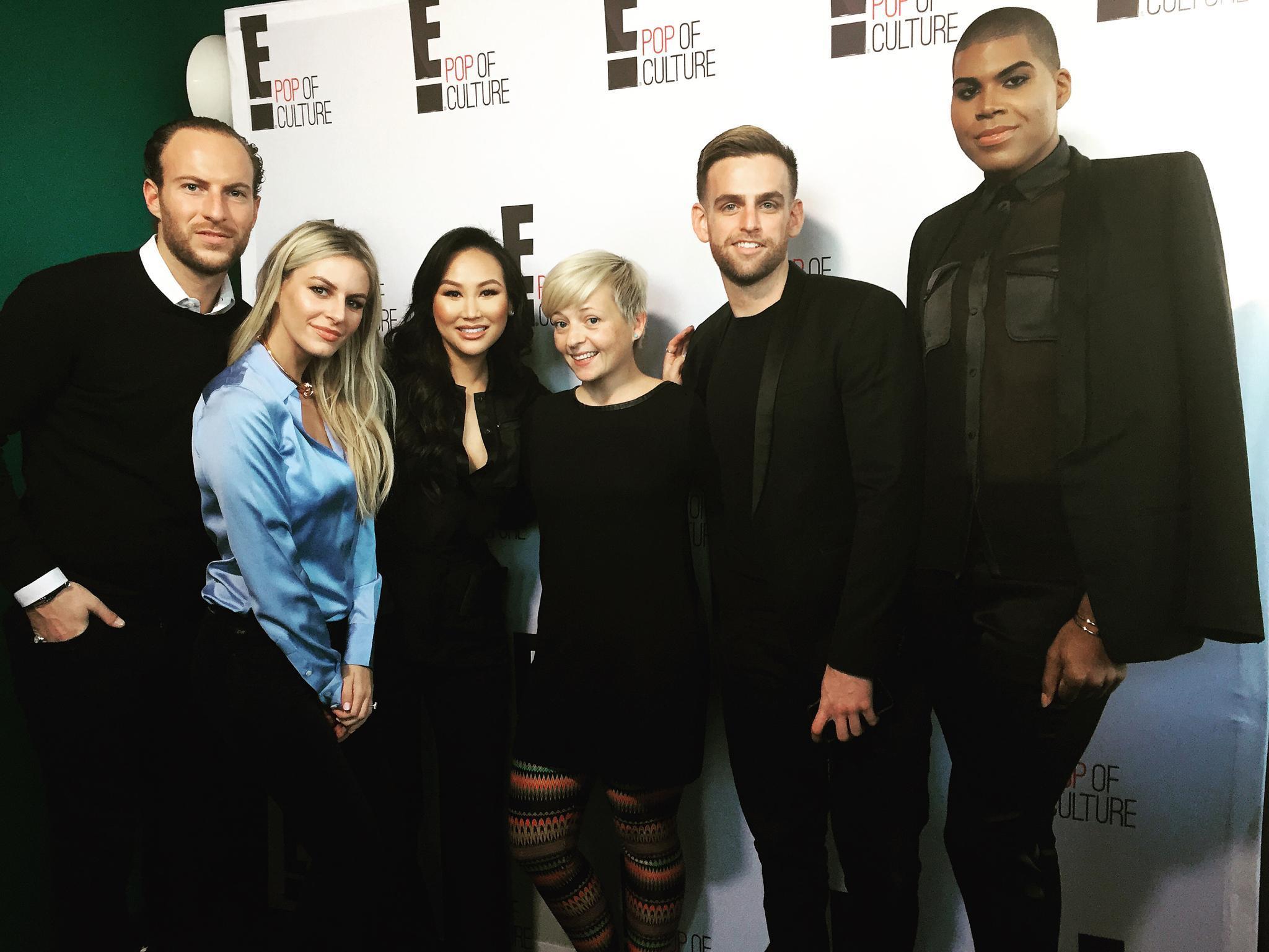 "Ines von GALA traf Brendan, Morgan, Dorothy, Jonny und EJ alias ""#RichKids Of Beverly Hills"" in Los Angeles."