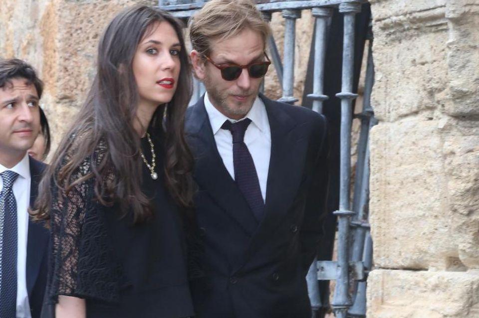 Natürlich auch eingeladen: das Monegassen-Paar Andrea Casiraghi und Tatioana Santo Domingo. Sie ist eine Nichte des Bräutigams.