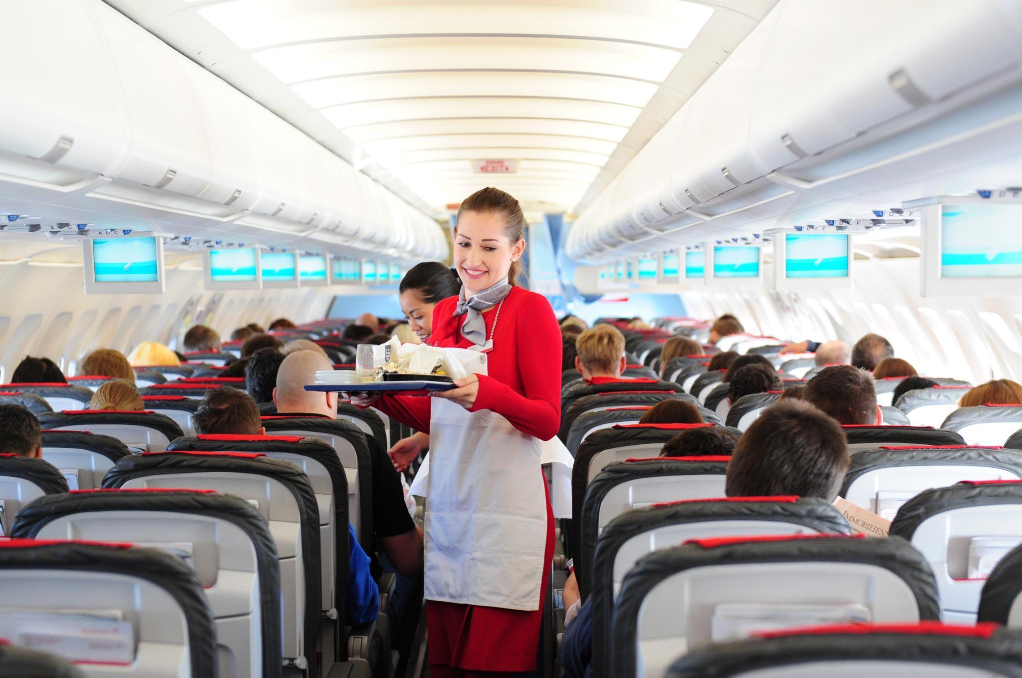 Flugbegleiter Austrian Airlines