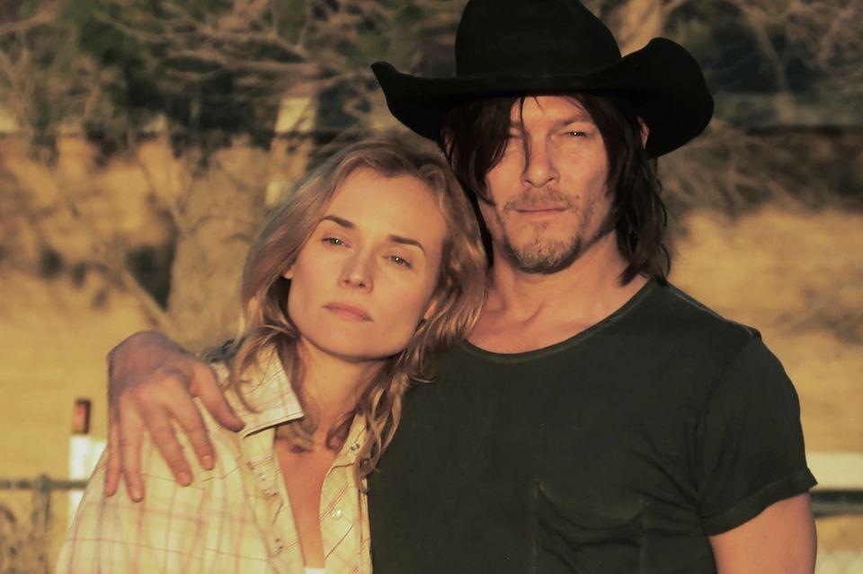 """In """"Sky""""- Der Himmel in mir"""" (Start: 9. Juni) verlieben sich Diane und Norman Reedus ineinander."""