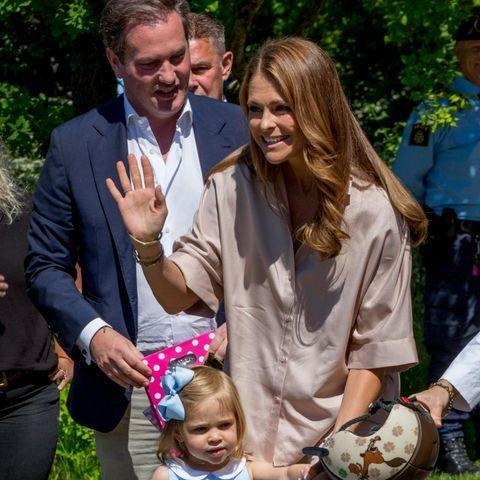 Chris O'Neill, Prinzessin Madeleine, Prinzessin Leonore