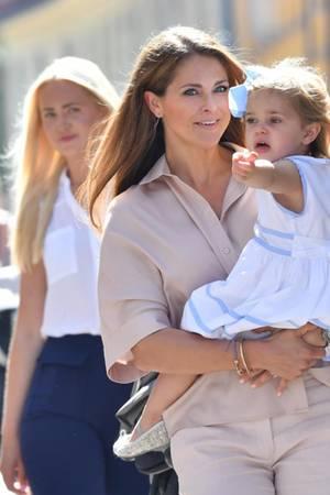 Prinzessin Madeleine, Prinzessin Leonore, Nanny Louise Blomqvist