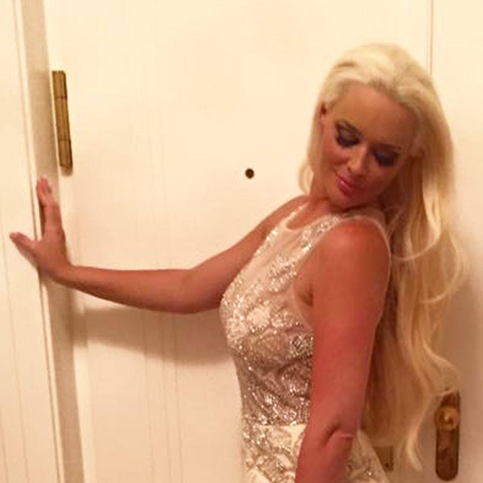 Daniela Katzenbergers Party-Kleid für die Hochzeitsfeier