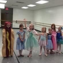 Ainsley als Hotdog-Prinzessin