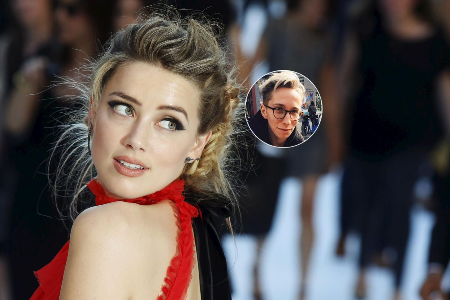 Amber Heard, iO Tillett Wright