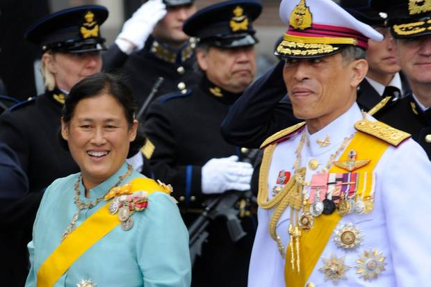 Beliebt: Prinzessin Sirindhorn - weniger beliebt: ihr Bruder, der Kronprinz Vajiralongkorn