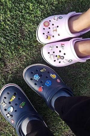 Crocs.