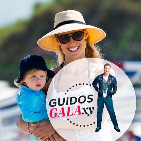 Michelle Hunziker + Tochter Celeste