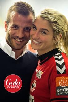 Estavana Polman und Rafael Van der Vaart