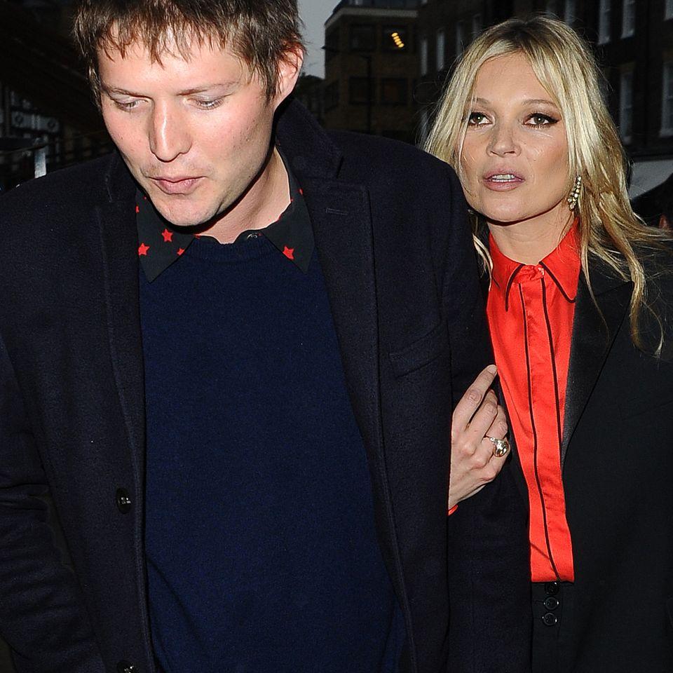 Graf Nikolai von Bismarck und Topmodel Kate Moss