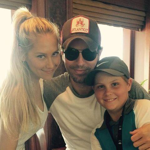 Anna Kournikova & Enrique Iglesias: Seltenes Liebes-Selfie