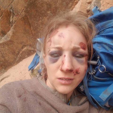 Amber Kornhurst's letztes Selfie.
