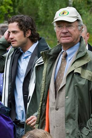 König Carl Gustaf, Prinz Carl Philip