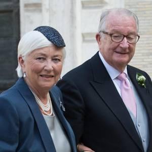Königin Paola + König Albert von Belgien