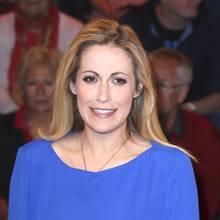 Moderatorin Andrea Kaiser hatte Ängste zu überstehen.