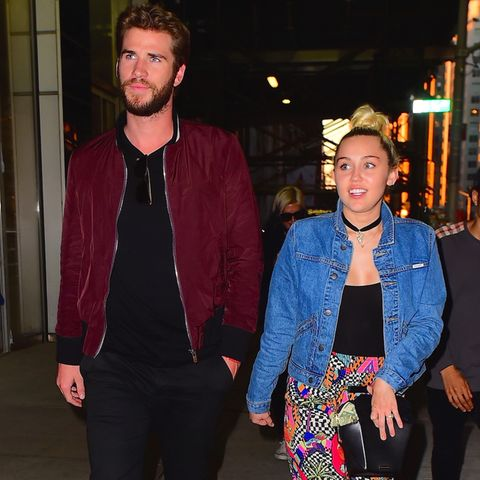 Liam Hemsworth + Miley Cyrus