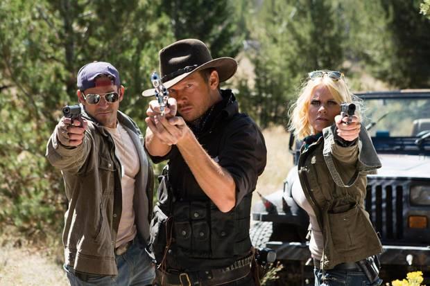 """Nick Carter (Mitte) hatte die Idee zu """"Dead 7"""""""