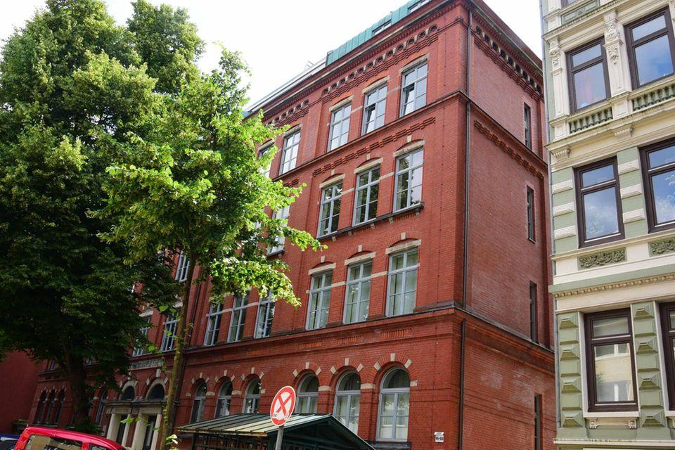 Götz Georges Wohnhaus im Hamburger Stadtteil St. Georg.