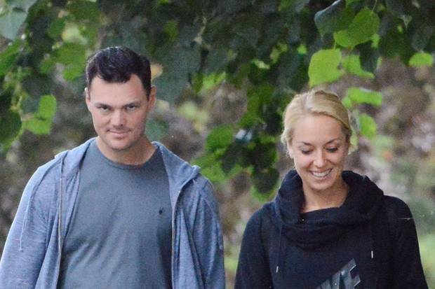 Sabine Lisicki und Martin Kaymer zusammen in London.