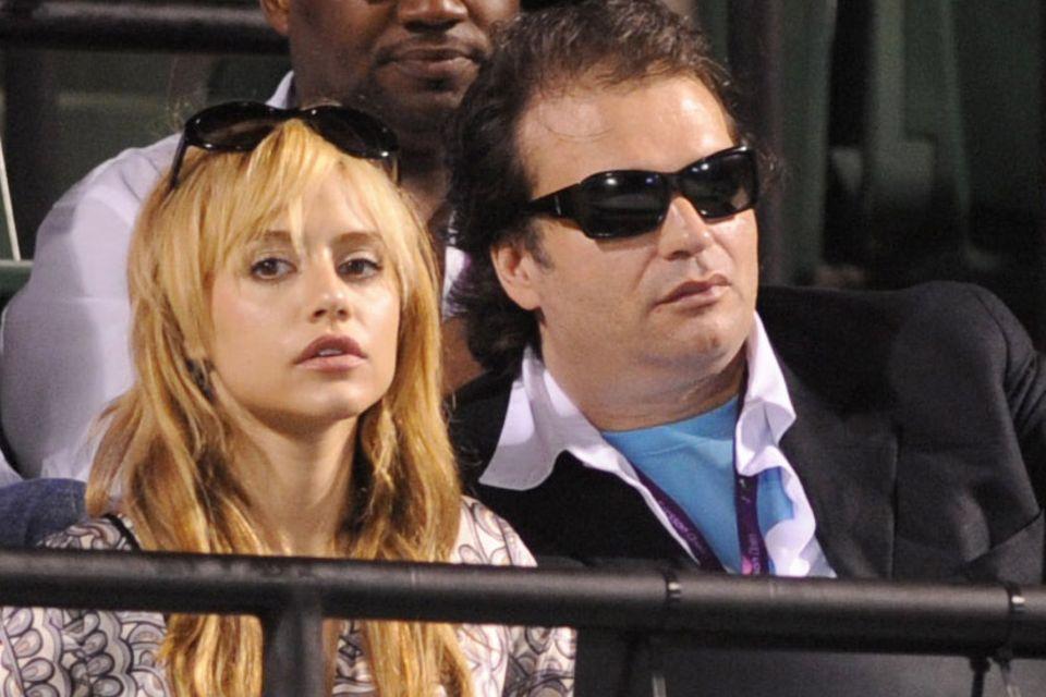 Brittany Murphy (†) und ihr Ehemann Simon Monjack (†) im April 2008