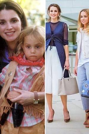 Prinzessin Iman Königin Ranias Tochter Wird Zur Stil Ikone Galade