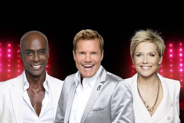 Die Supertalent-Jury 2015: Bruce Darnell, Dieter Bohlen und Inka Bause
