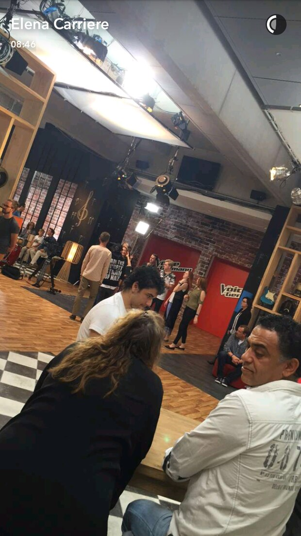 """Elena Carrière war bei den """"The Voice""""-Bilnd Auditions"""