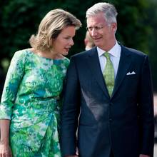 Königin Mathilde + König Philippe