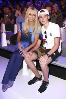 Jenny Elvers mit Sohn Paul