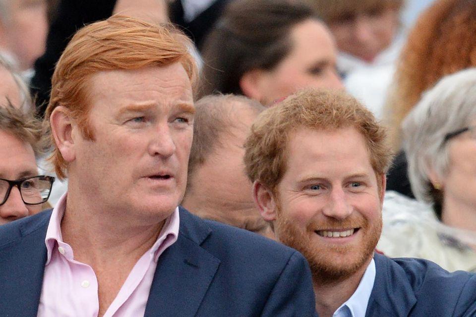 Prinz Harry und Mark Dyer