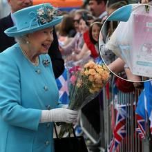 Queen Elizabeth in Dundee