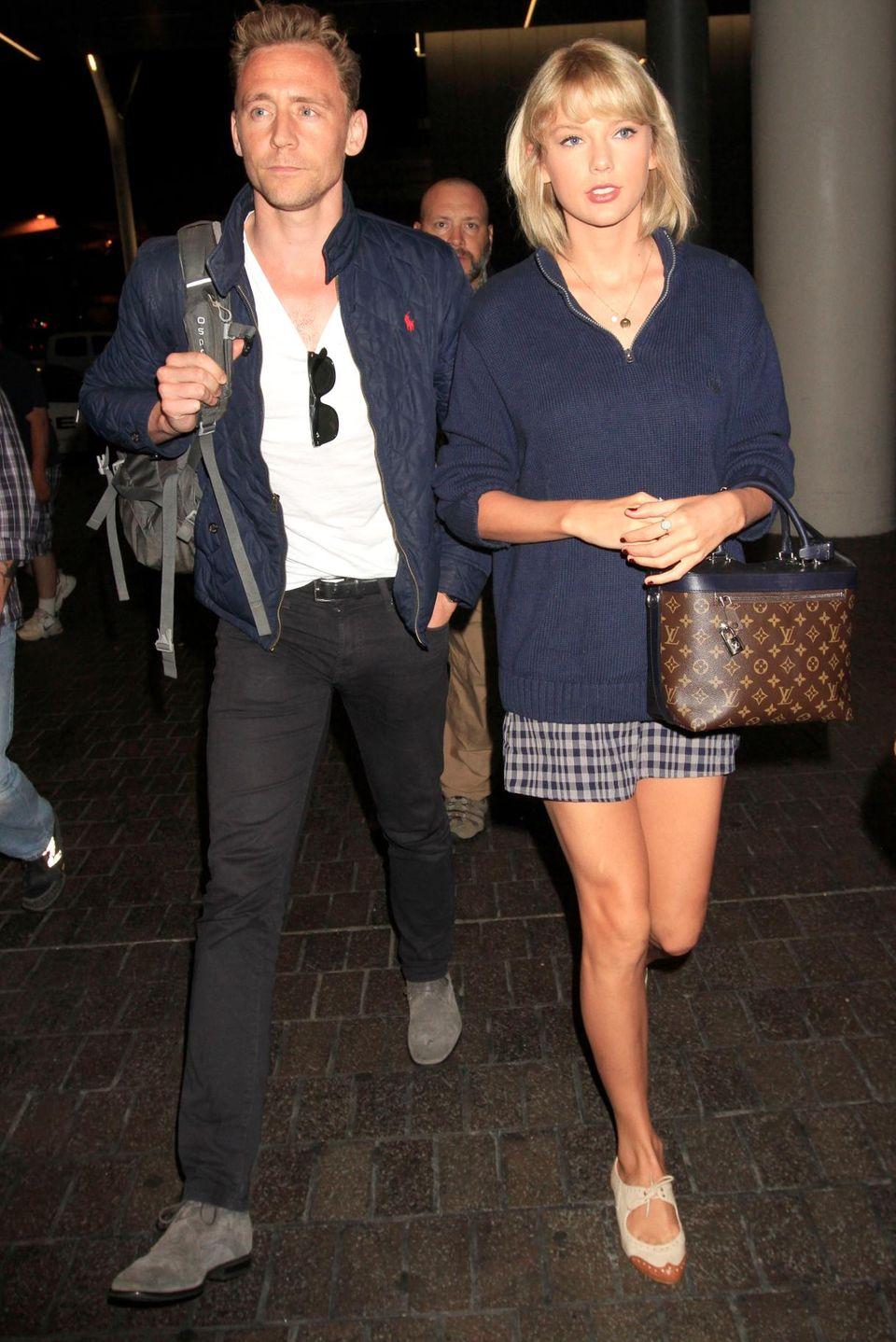 Schauspieler Tom Hiddleston und Sängerin Taylor Swift