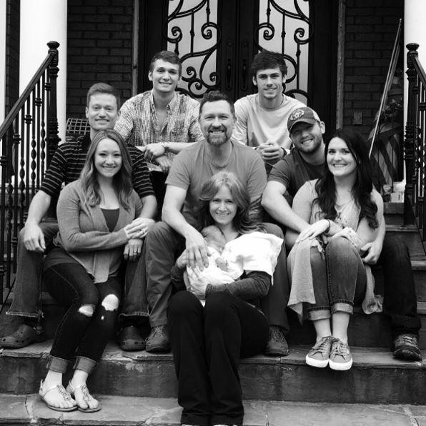 Craig Morgan mit seiner Familie!
