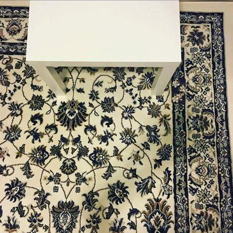 Handy auf dem Teppich