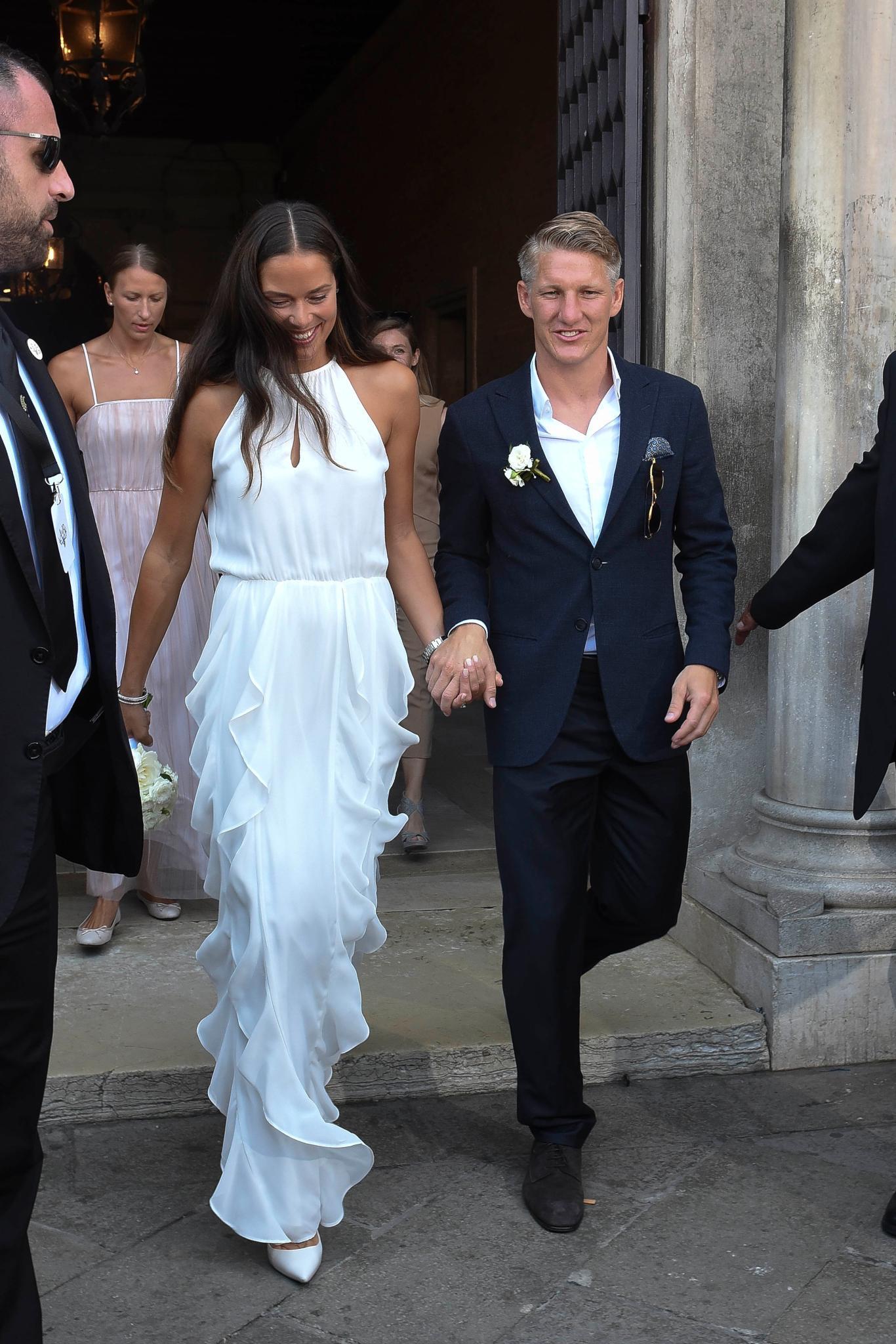 Ana Ivanovic Bastian Schweinsteiger Hochzeit In Venedig Galade