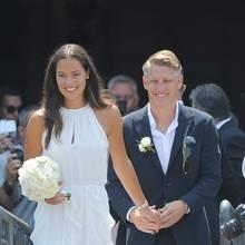Ana Ivanovic und Bastian Schweinsteiger haben sich in Venedig das Jawort gegeben.