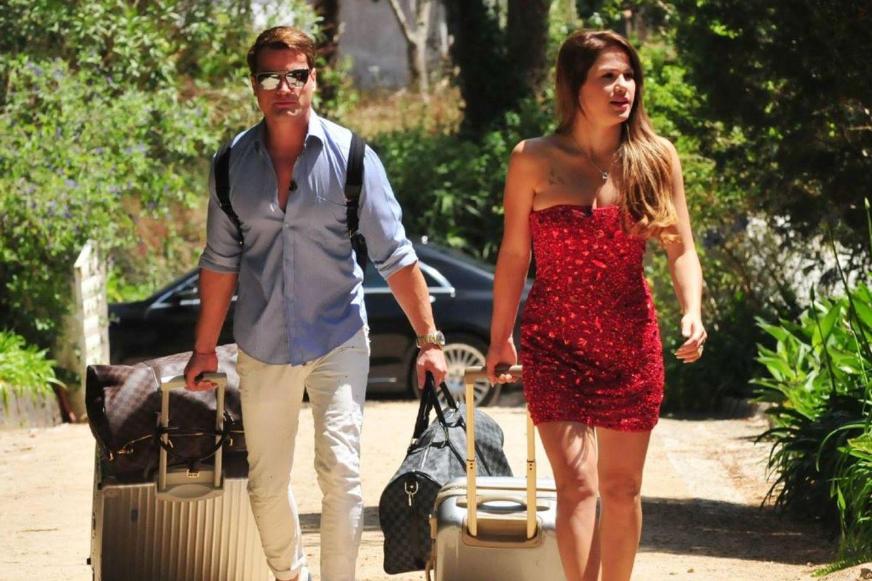 Schauspieler Rocco Stark und Angelina Heger