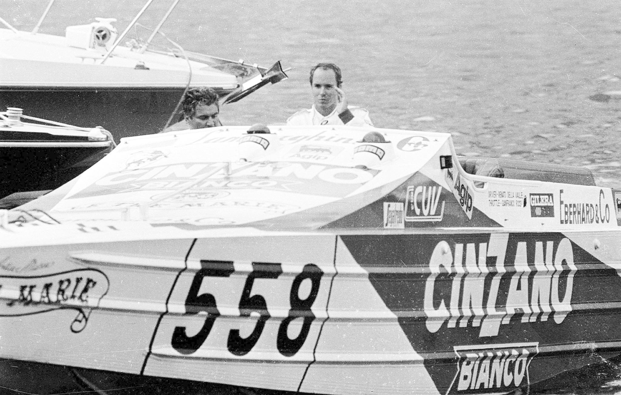 Pierres Vater, Stefano Casiraghi, liebte schnelle Motorboote - und starb als Folge eines Rennunfalls.